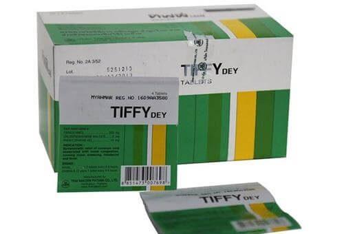 Công dụng của thuốc Tiffy trong điều trị bệnh cảm cúm