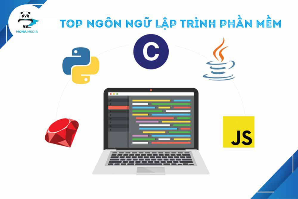 Những ngôn ngữ sử dụng lập trình phần mềm ứng dụng