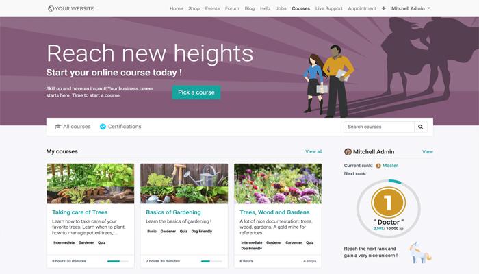 Thiết kế website học trực tuyến để làm gì?