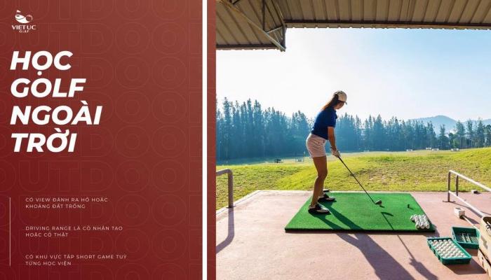 Trung tâm đào tạo đánh golf ngoài trời Việt Úc